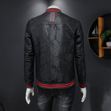 2020 New high quality men jacket fashion stripe jacket men coat