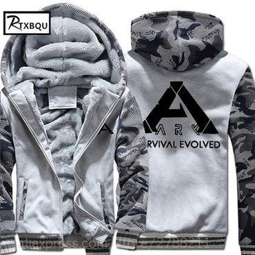 Survival Evolved Hooded NEW game men women hoodie Thick Zipper