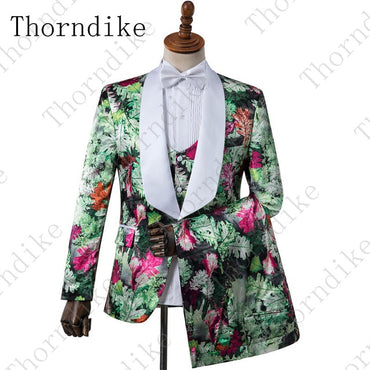 Brand New Shawl Lapel Velvet Men Suit For Wedding