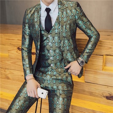 New Brand Men Suits Wedding Slim Fit Blazers
