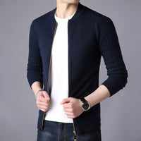 Spring Autumn New Men's Cardigan Sweater