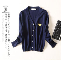 (Have eyes)New Men Sweater Autumn Long-sleeved V-neck Slim