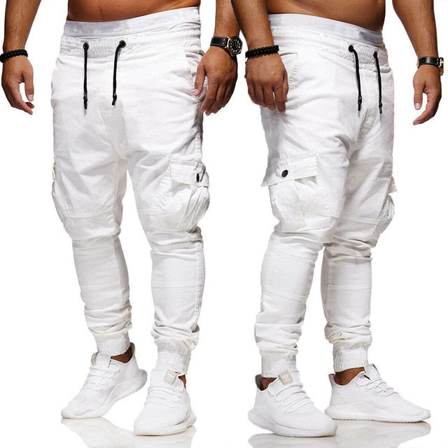 New Men Pants Hip Joggers Fashionable Overalls Trousers