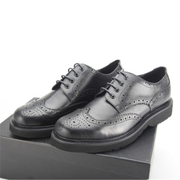 New European and American business dress carved leather shoes