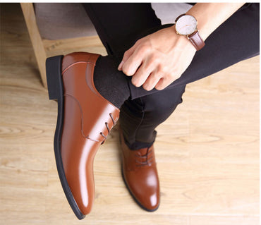 New Fashion Business Dress Men Shoes Classic Leather