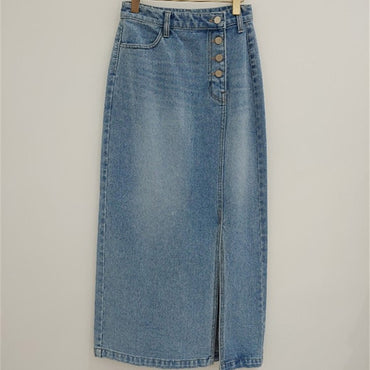 New Women Denim Skirt High Waist