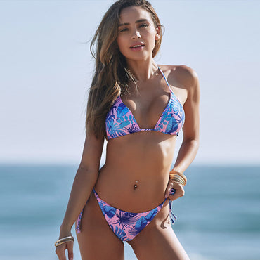 Bikini Push Up Floral Print Bikinis New Swimwear Women
