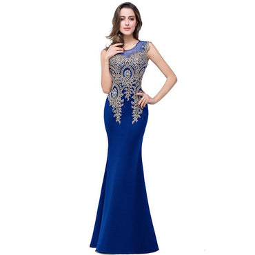 2020 Best-selling New Women Fashion Dress Gauze Hollow Gold Thread