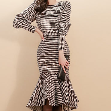Best-selling New Autumn Women's Fashion Dress