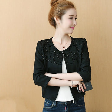 New Autumn long sleeve women jacket