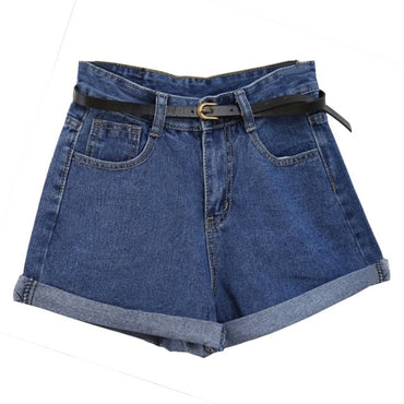 New Arrival Women Retro Loose Jeans Shorts