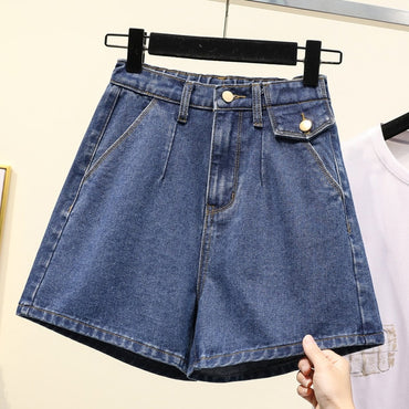 Women's Micro Fat Mm2020 Summer New Denim Shorts Korean-Style