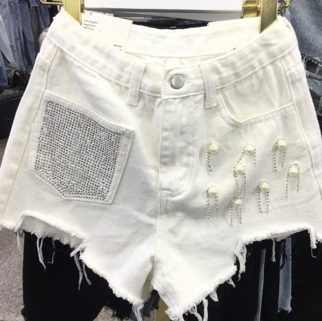 Summer New Denim Shorts Womans