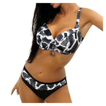 Women's Plus Size Bikini Set Swimsuit Beach Swimsuit