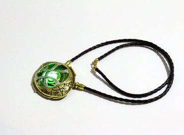 Doctor Strange Necklace Glow In Dark Eye