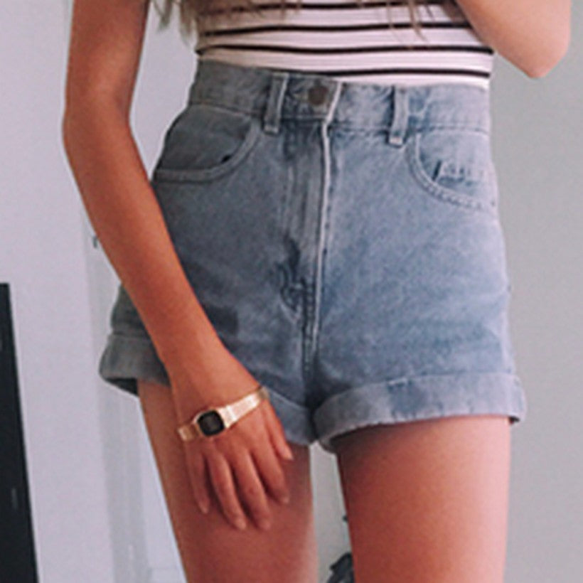 Denim Shorts Personality