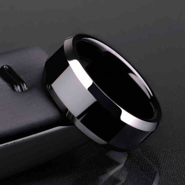 Best selling Ring Men Black Titanium