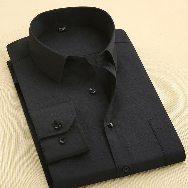 New Fashion Designer High Quality Solid Shirt