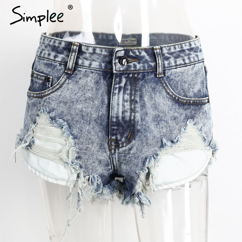Simplee Mini shorts
