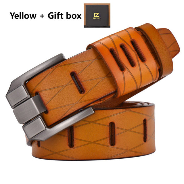 Top Genuine Leather Belts - GaGodeal