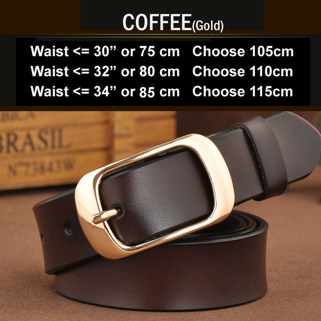 SAN VITALE  Belts Genuine Leather
