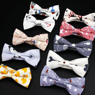 100% Cotton Vintage Bow Tie - GaGodeal