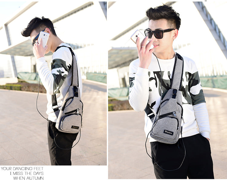 New Arrival Oxford Men Crossbody Bag
