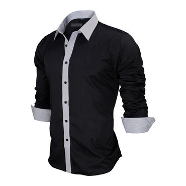 New Arrivals Slim Fit Male Shirt