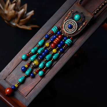 Fashion ethnic Tibetan necklace