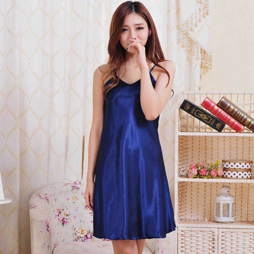 Summer Sexy Women Nightwear Mini