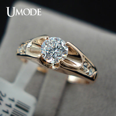 Rose Gold Color Mounting Ring