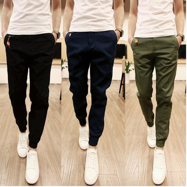 New Fashion Design Cotton Jogger Pants