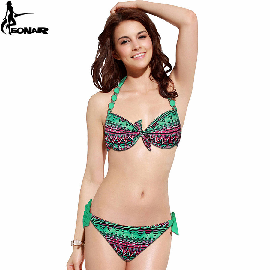 Print Floral Swimsuits Brazilian
