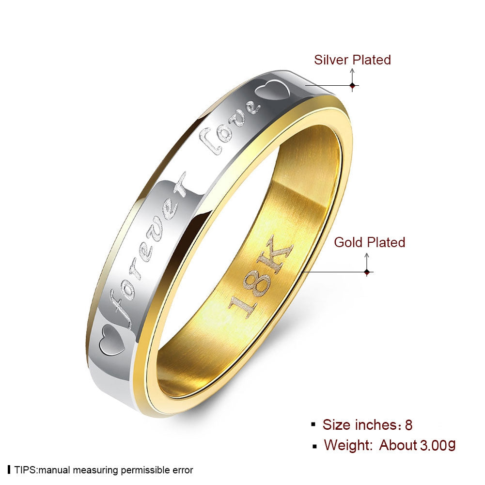 Stainless Steel Gold-color