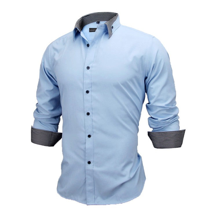 British Style Cotton Shirt - GaGodeal