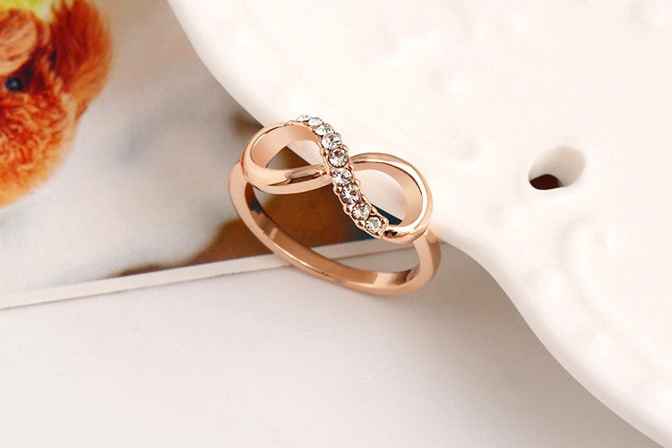 Alloy Crystal Rings - GaGodeal