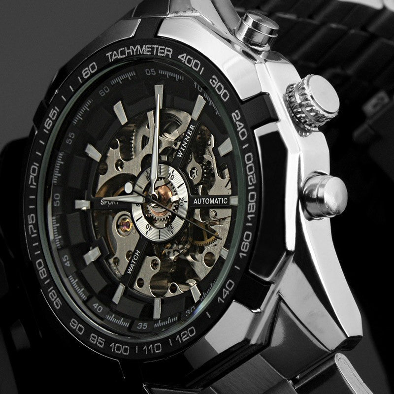 2018 Top Brand Luxury Fashion Skeleton Watch