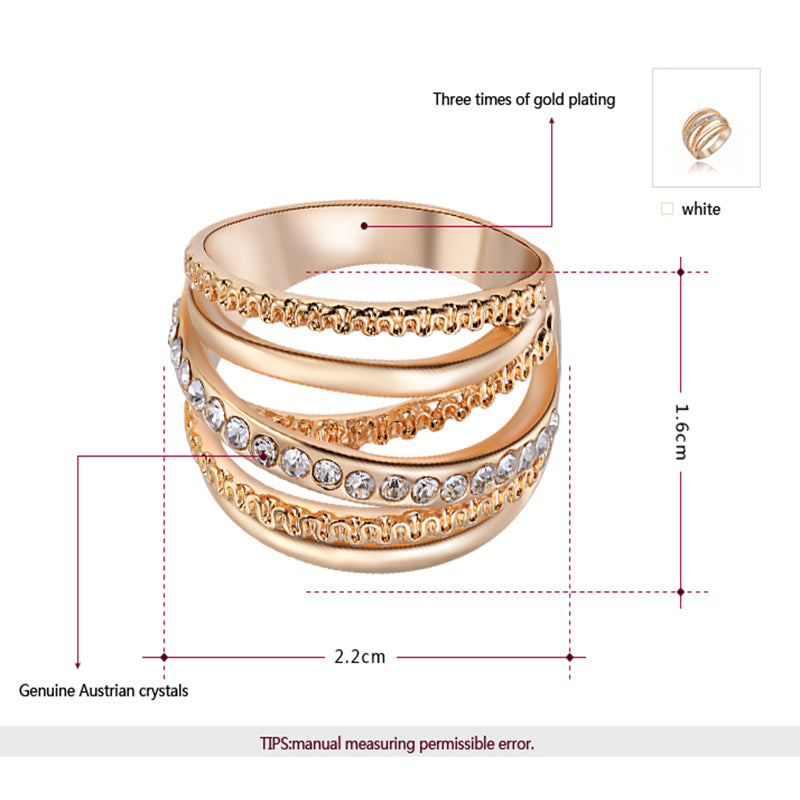 Ring Rose Gold - GaGodeal