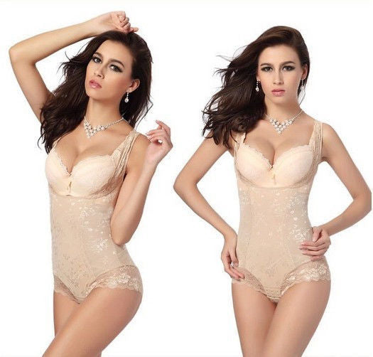Lady Sexy Corset Slimming Suit