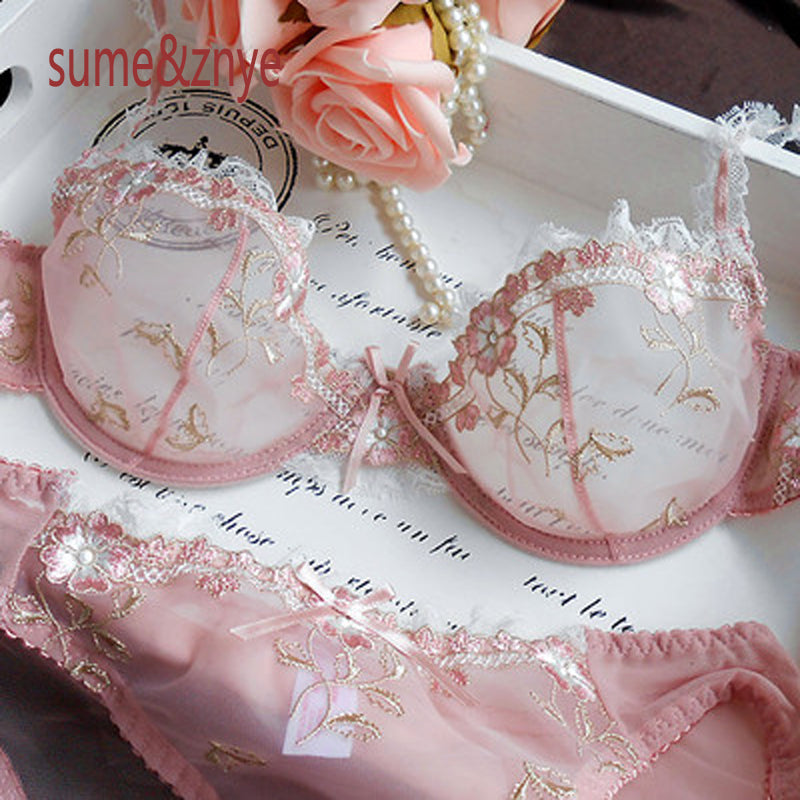 French sexy bra embroidery