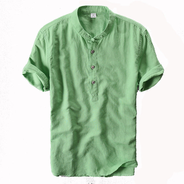 Linen Cotton Shirt - GaGodeal
