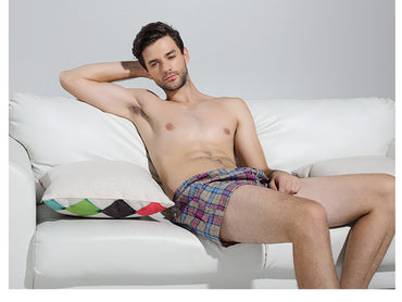 Classic Plaid Men's Boxers - GaGodeal