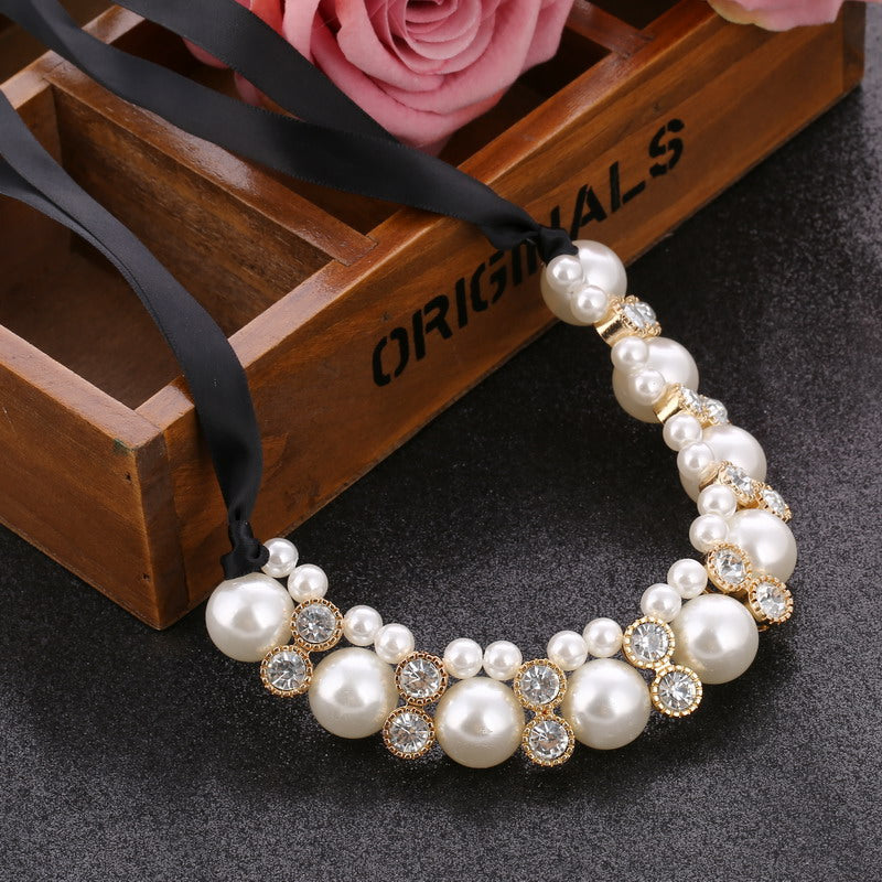 Imitation Pearl Chokers