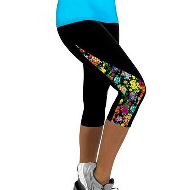 Leggings Capris Printed - GaGodeal