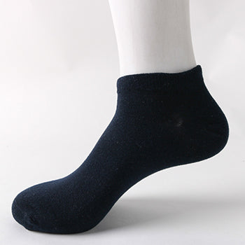 Solid colors short socks