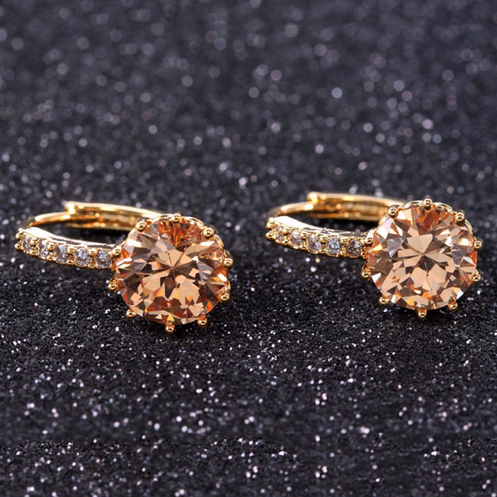 Luxury Ear Stud Earrings