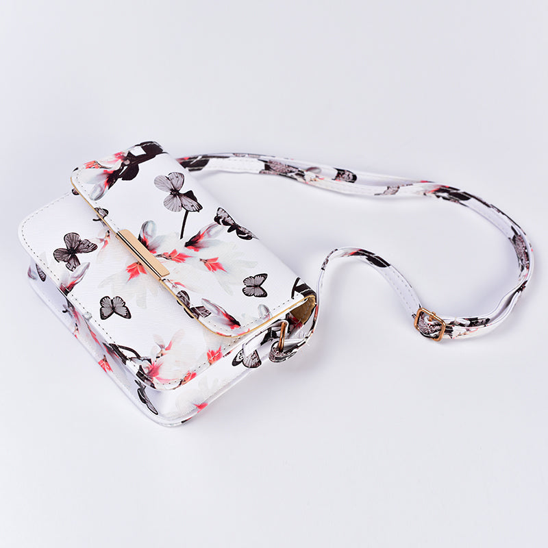 Women Floral leather