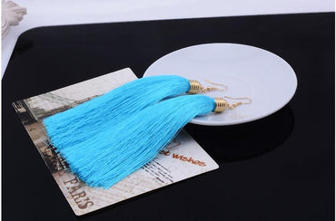 Ethnic Long Tassel
