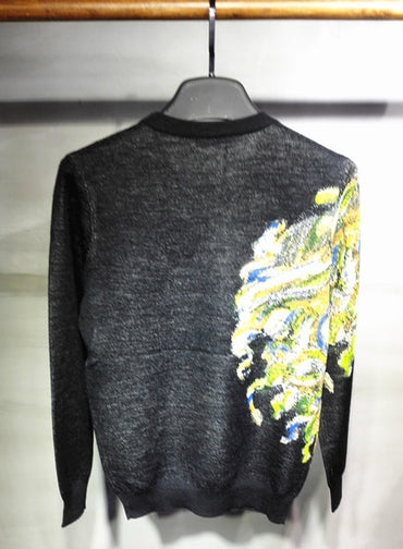 NEW men's face sweater