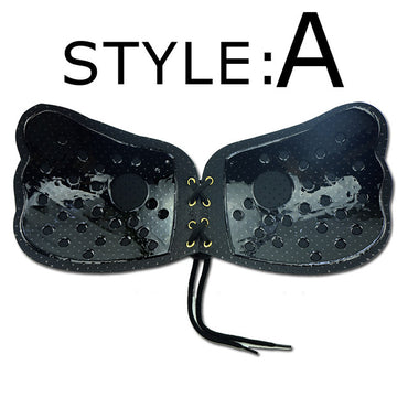 Strapless Fly Bra Three Quarters